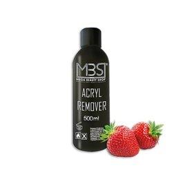 Mega Beauty Shop® MBS Acryl remover (500 ml)    met aardbeiengeur