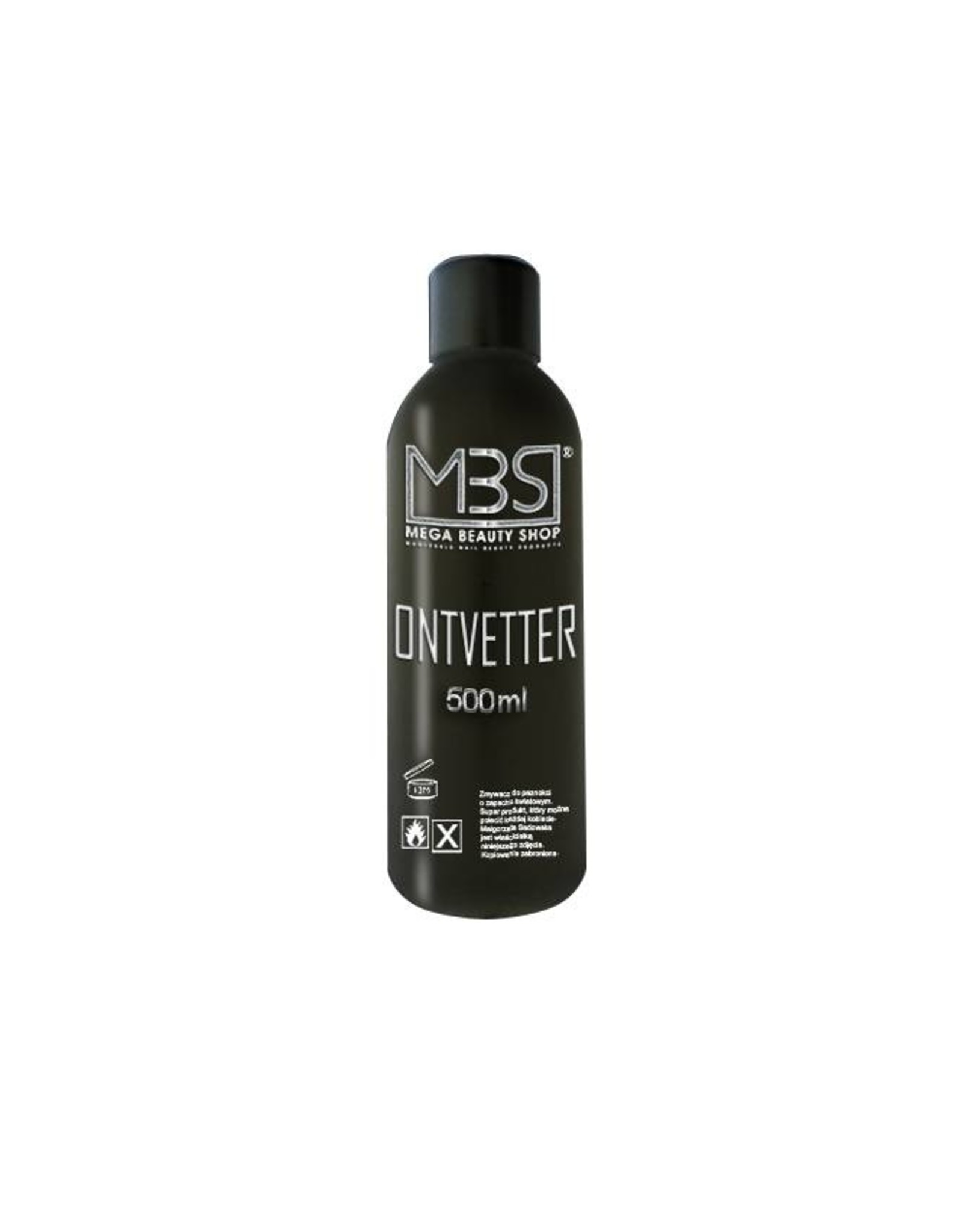 Mega Beauty Shop® Ontvetter (500 ml)   met appelgeur