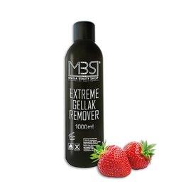 Mega Beauty Shop® MBS Extreme gellak remover (1000 ml)    met aardbeiengeur