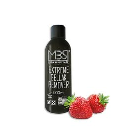 Mega Beauty Shop® MBS Extreme gellak remover (500 ml)    met aardbeiengeur