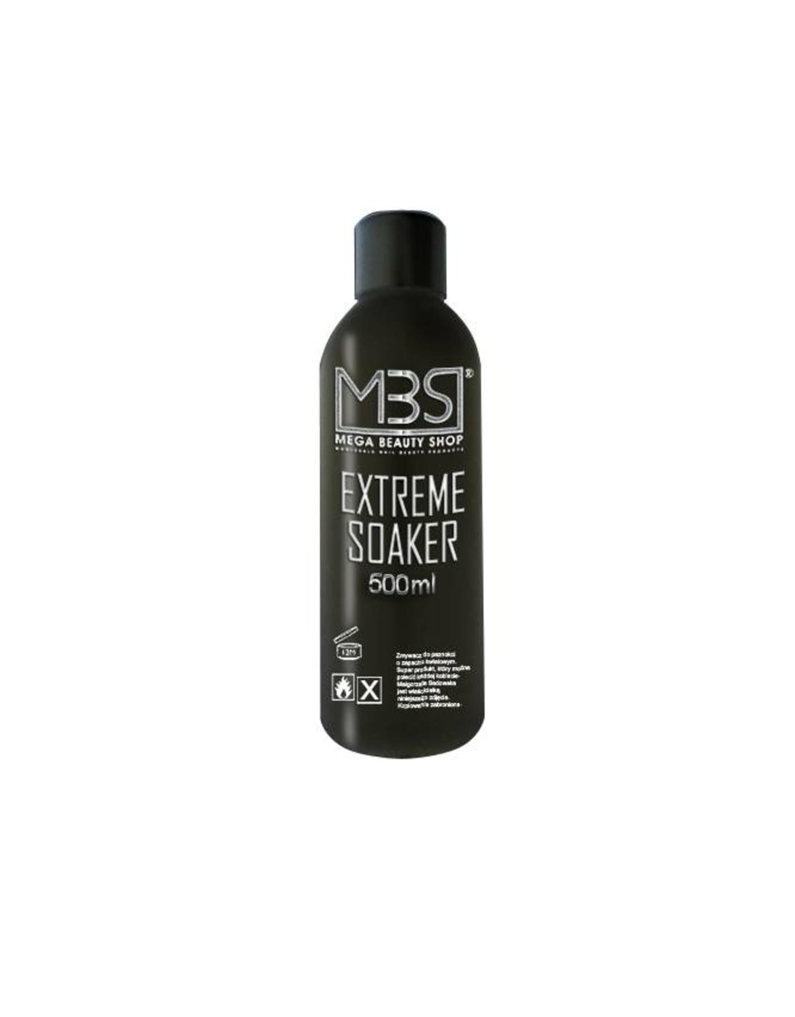 Mega Beauty Shop® Extreme gellak remover (500 ml)    met aardbeiengeur