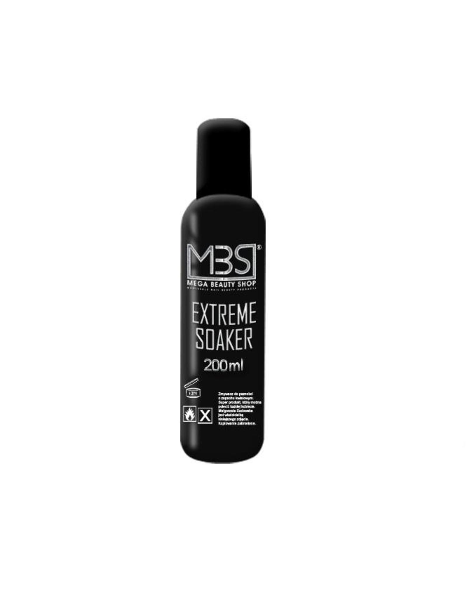 Mega Beauty Shop® MBS Extreme gellak remover (200 ml)   met aardbeiengeur