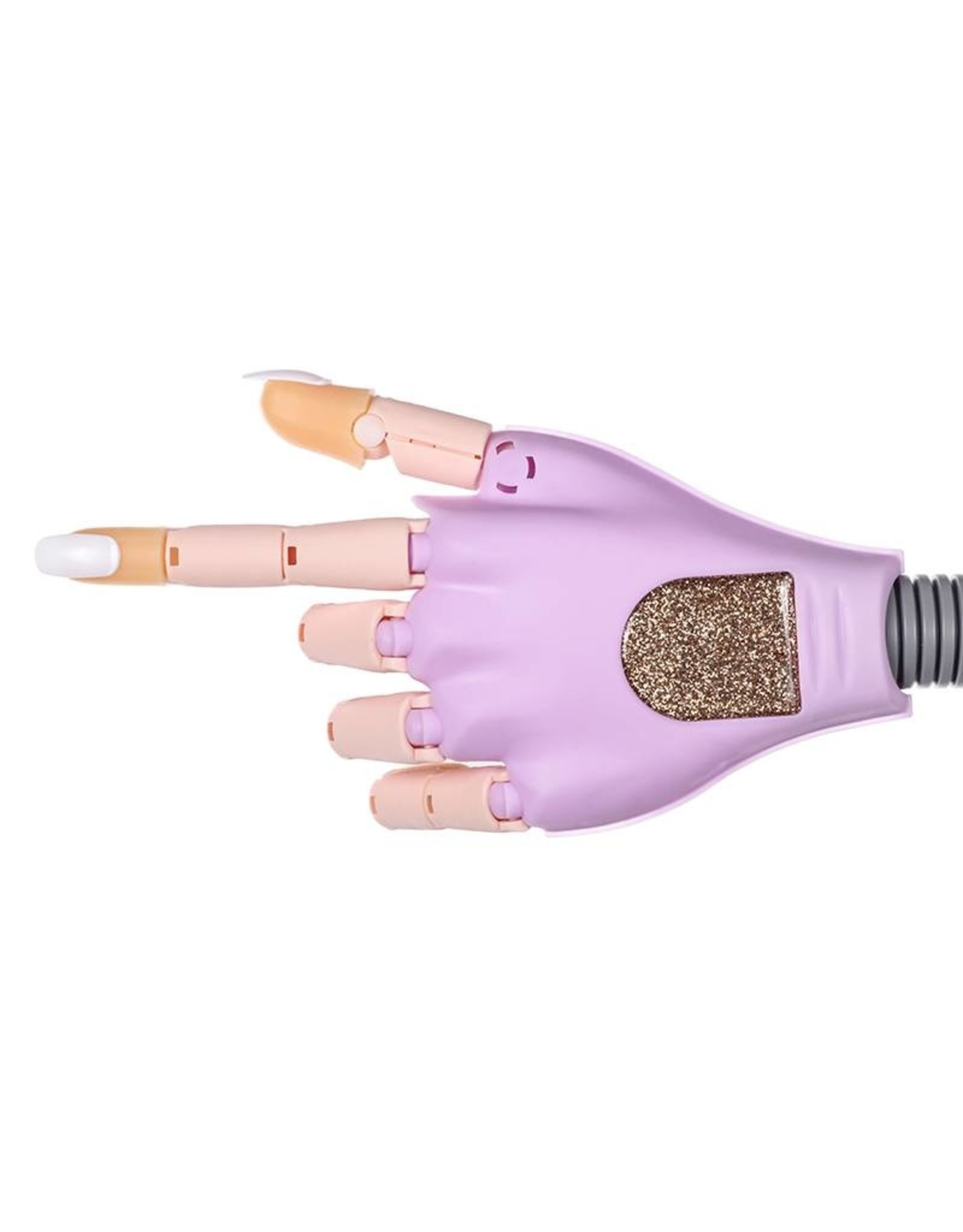Mega Beauty Shop® Oefenhand/Nailtrainer  Paars