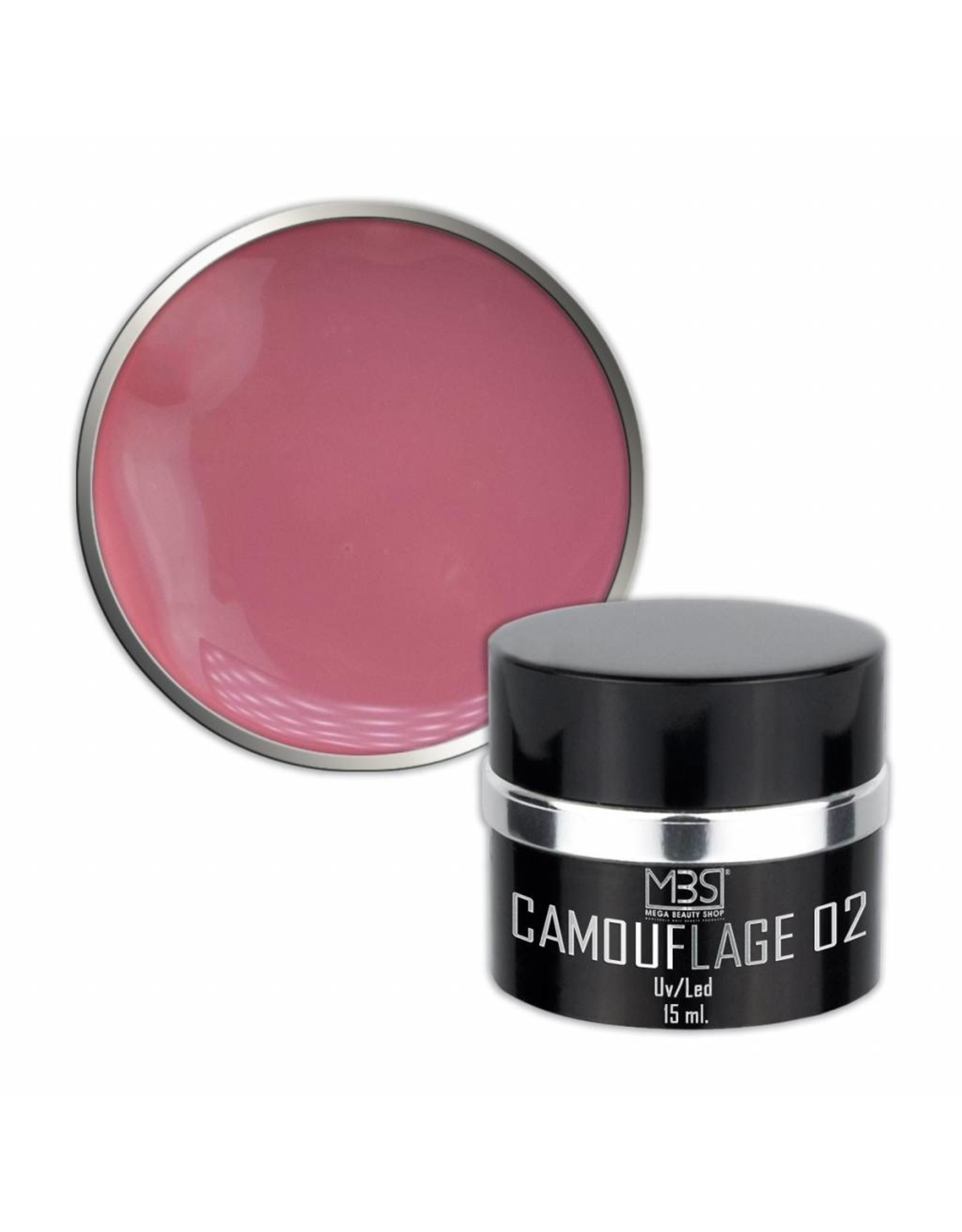 Mega Beauty Shop® PRO Builder Camouflage 15 ml (nr. 02)