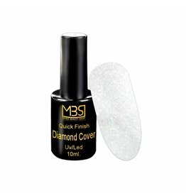 Mega Beauty Shop® UV Quick Finish  gel zonder plaklaag (Diamant effect) 10 ml