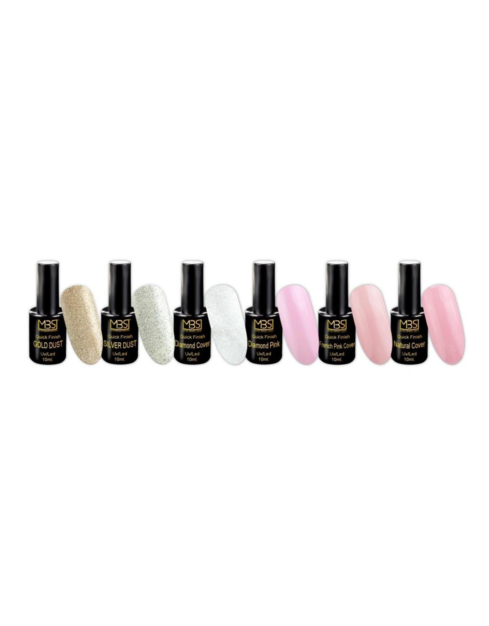 Mega Beauty Shop® UV Quick Finish  gel zonder plaklaag 10 ml