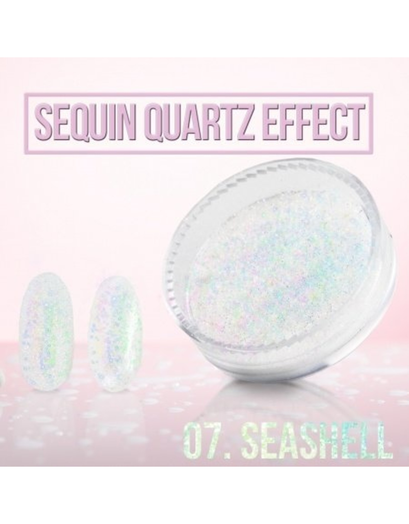 Merkloos Seaquin Quarts effect - Sea Shell