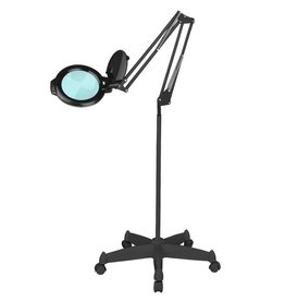 Merkloos LED Loeplamp met Rolstatief + Tafelklem Gratis!