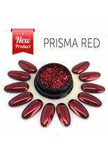 Merkloos Prisma effect Rood