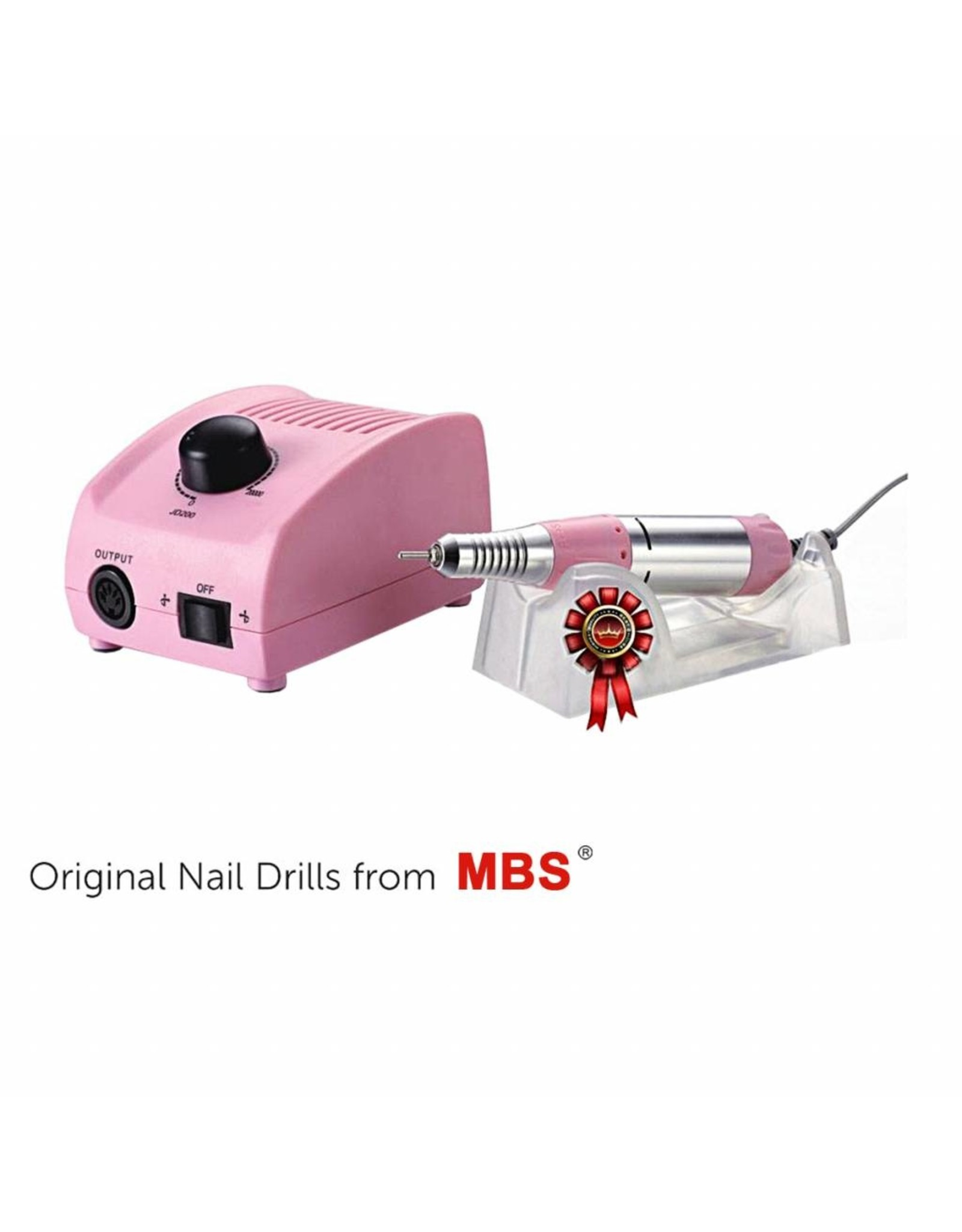 Mega Beauty Shop® Nagelfrees JD200 Roze Originele MBS® + Keramische frees