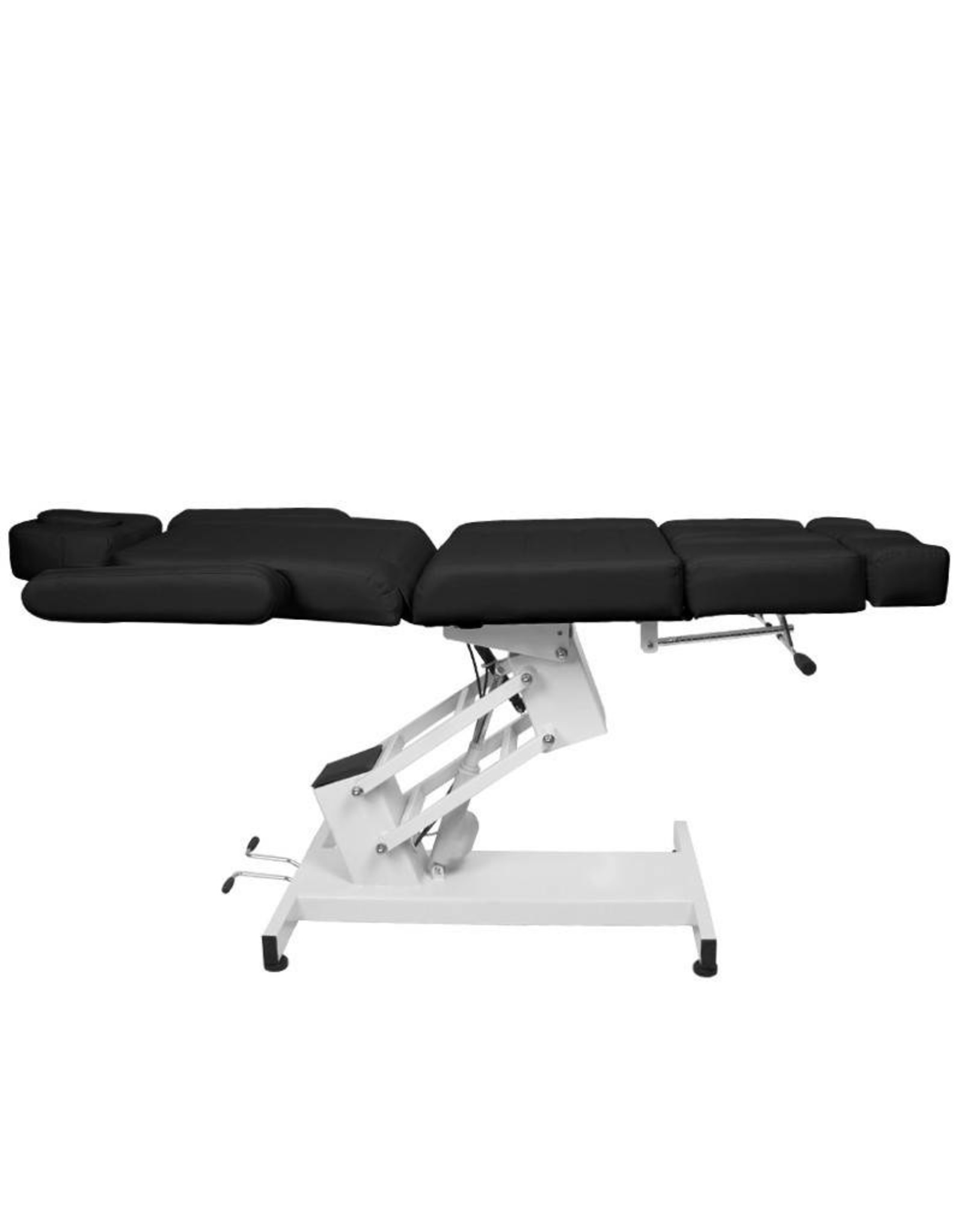 Mega Beauty Shop® Elektrische Behandelstoel PRO Zwart (1 motor)