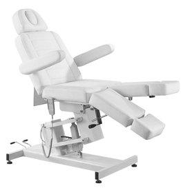Mega Beauty Shop® Elektrische Behandelstoel PRO Wit (1 motor)