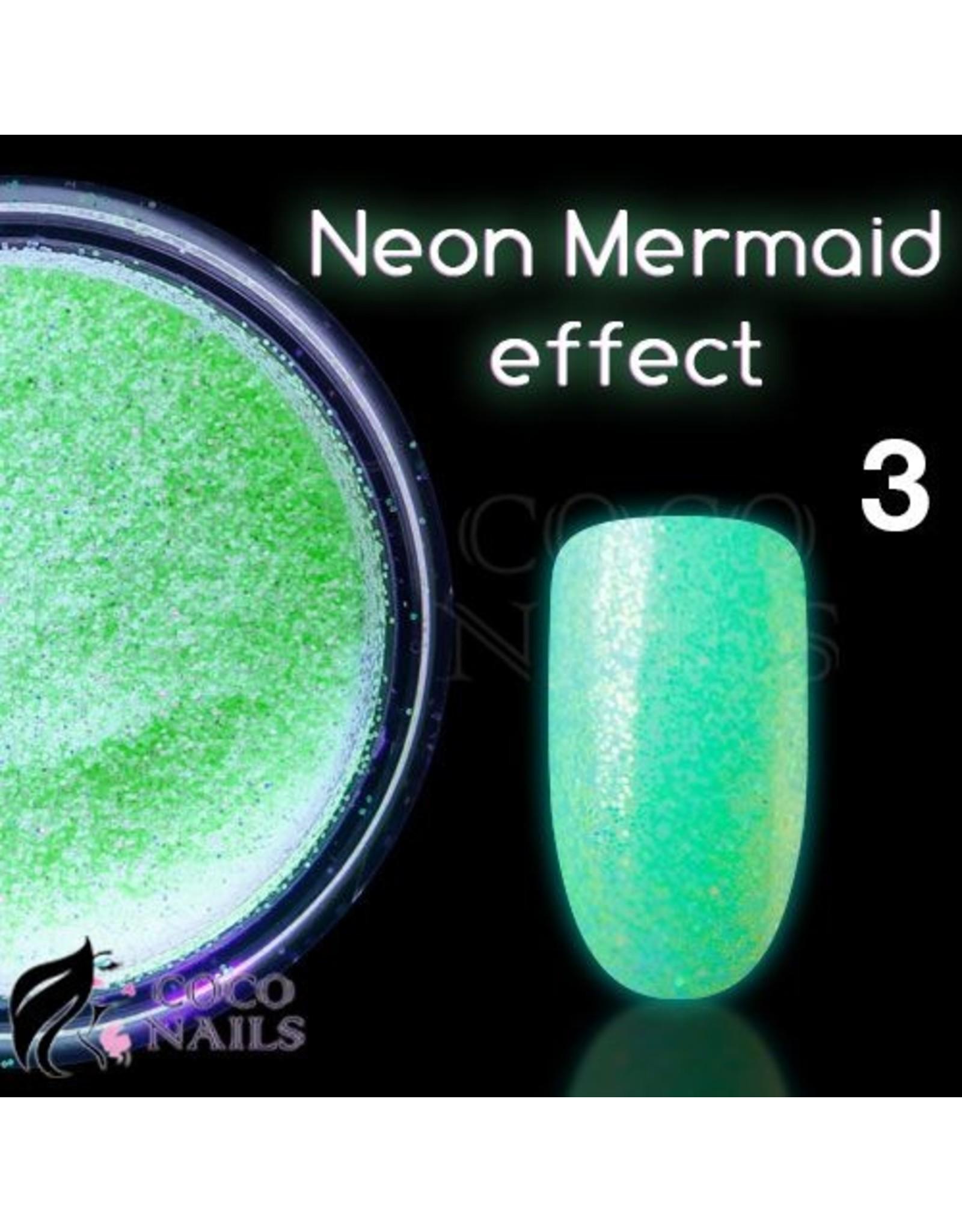 Merkloos Neon Mermaid effect