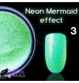 Merkloos Neon Mermaid effect (nr. 03)