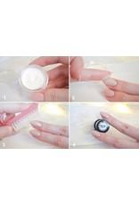 Merkloos Mermaid effect crystal zilver