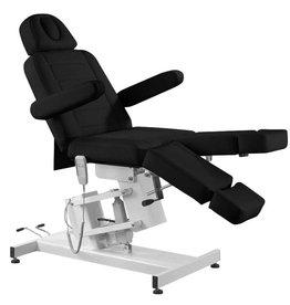 Merkloos Elektrische Behandelstoel PRO Zwart (1 motor)