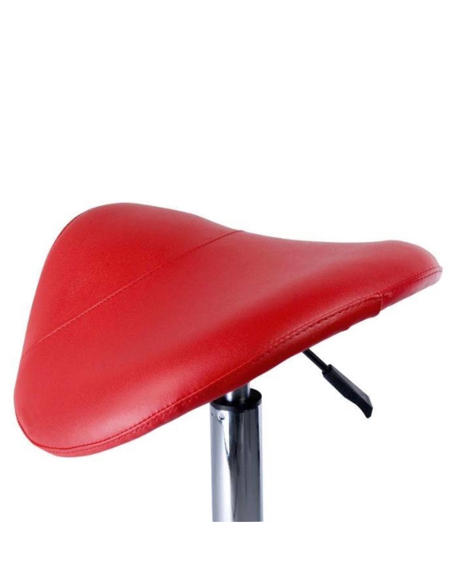 Merkloos Zadelkruk Hydraulische - rood