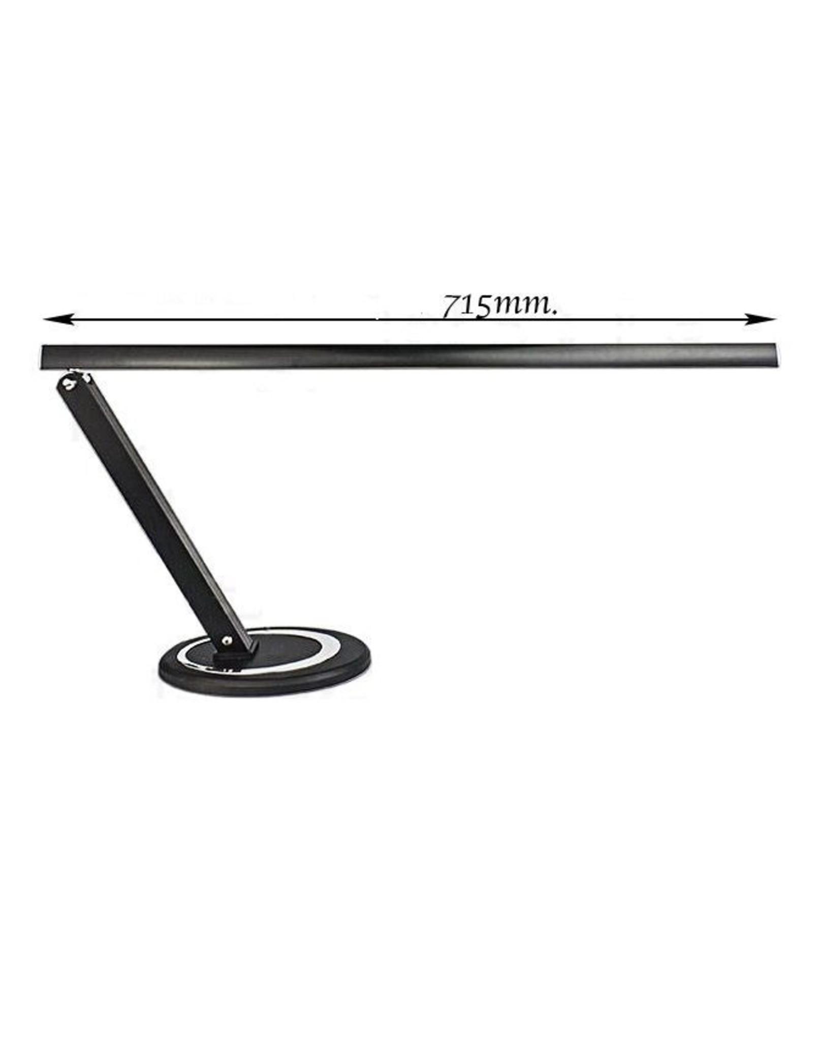 Merkloos Tafellamp Zwart - lang