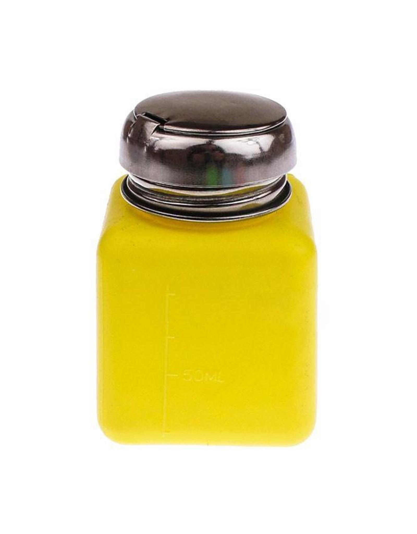 Merkloos Pompfles geel