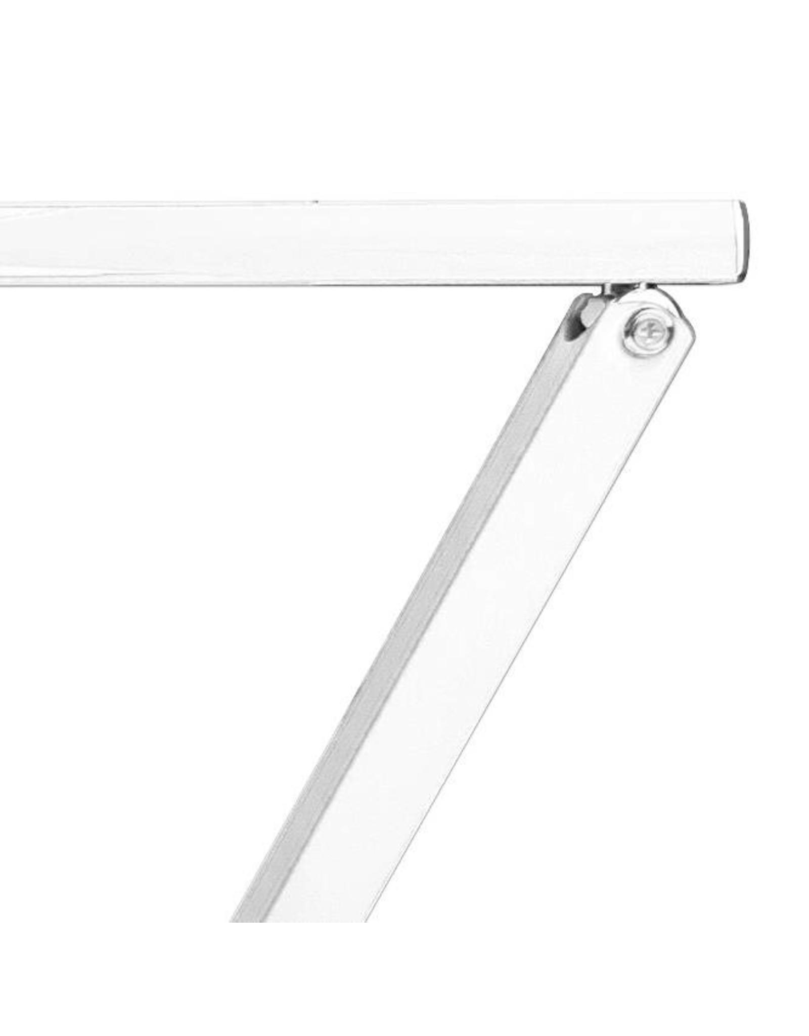 Merkloos LED Tafellamp Zilver