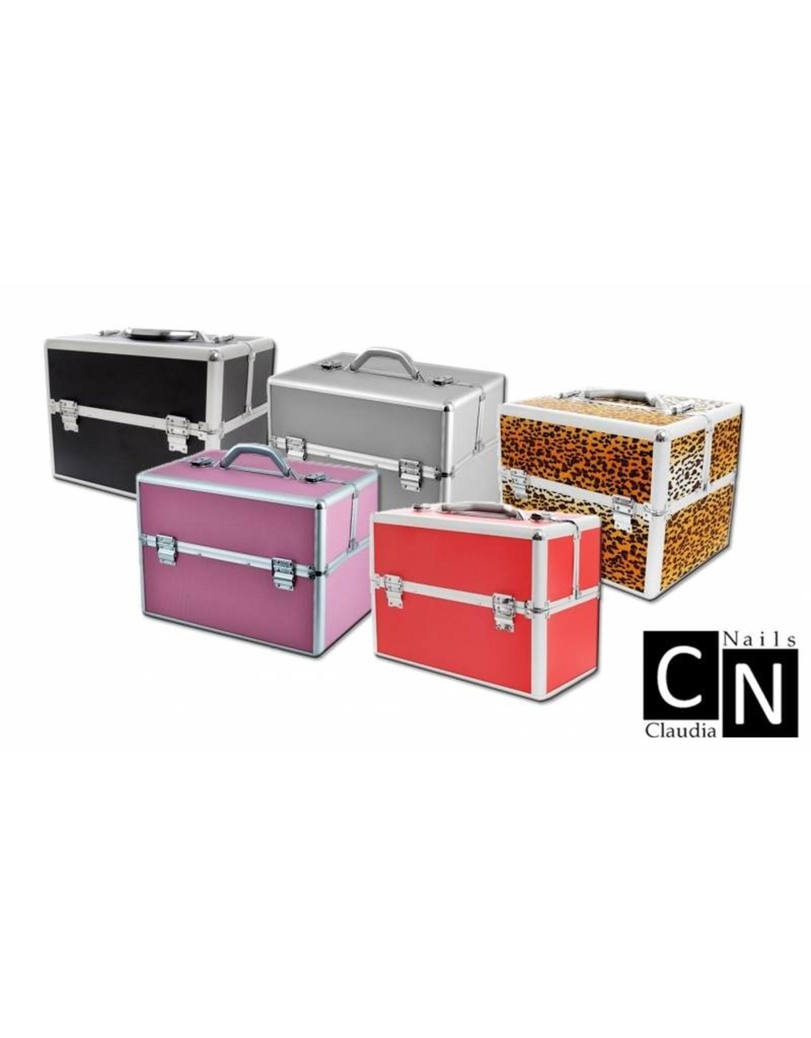 Mega Beauty Shop® Aluminium luxe koffer - zilver