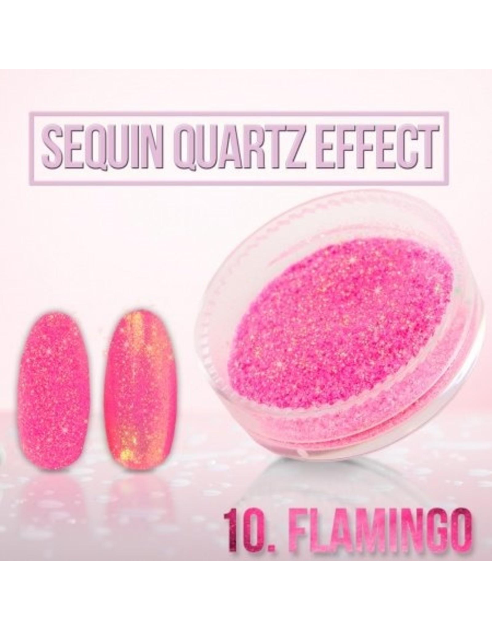 Merkloos Seaquin Quarts effect - Flamingo