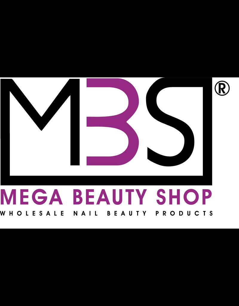 Mega Beauty Shop® Banana   vijlen zebra  100/180  50st.