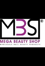 Mega Beauty Shop® PRO Rechte  vijlen zebra  100/100   50st.
