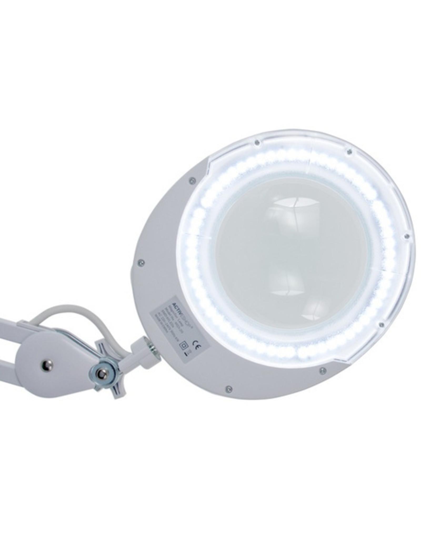Merkloos Loeplamp LED voor tafelklem