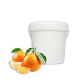 Merkloos Soft Body Lichaams- Pakking - 1 kg Mandarijn