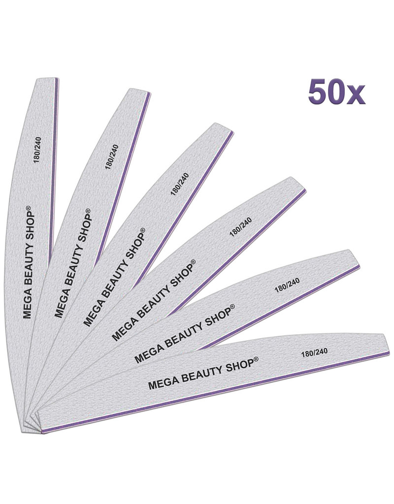 Mega Beauty Shop® PRO Trapeze vijlen zebra  180/240   50st.