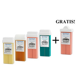 QUICKEPIL Harspatroon set 4+1 Gratis!