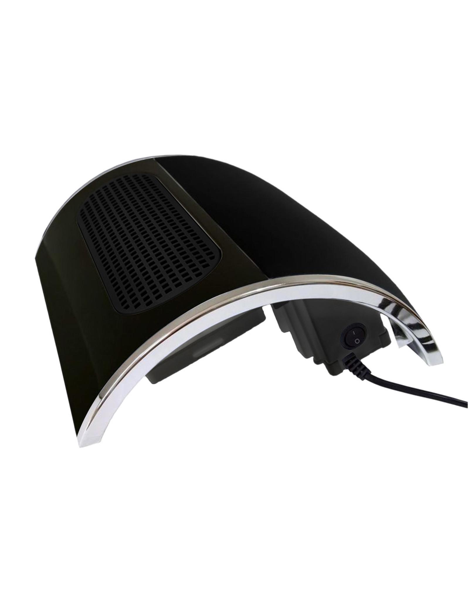 Mega Beauty Shop® Sun4 S plus UV/LED + Stofafzuiger Zwart