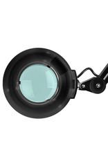 Mega Beauty Shop® Loeplamp met rolstatief - zwart