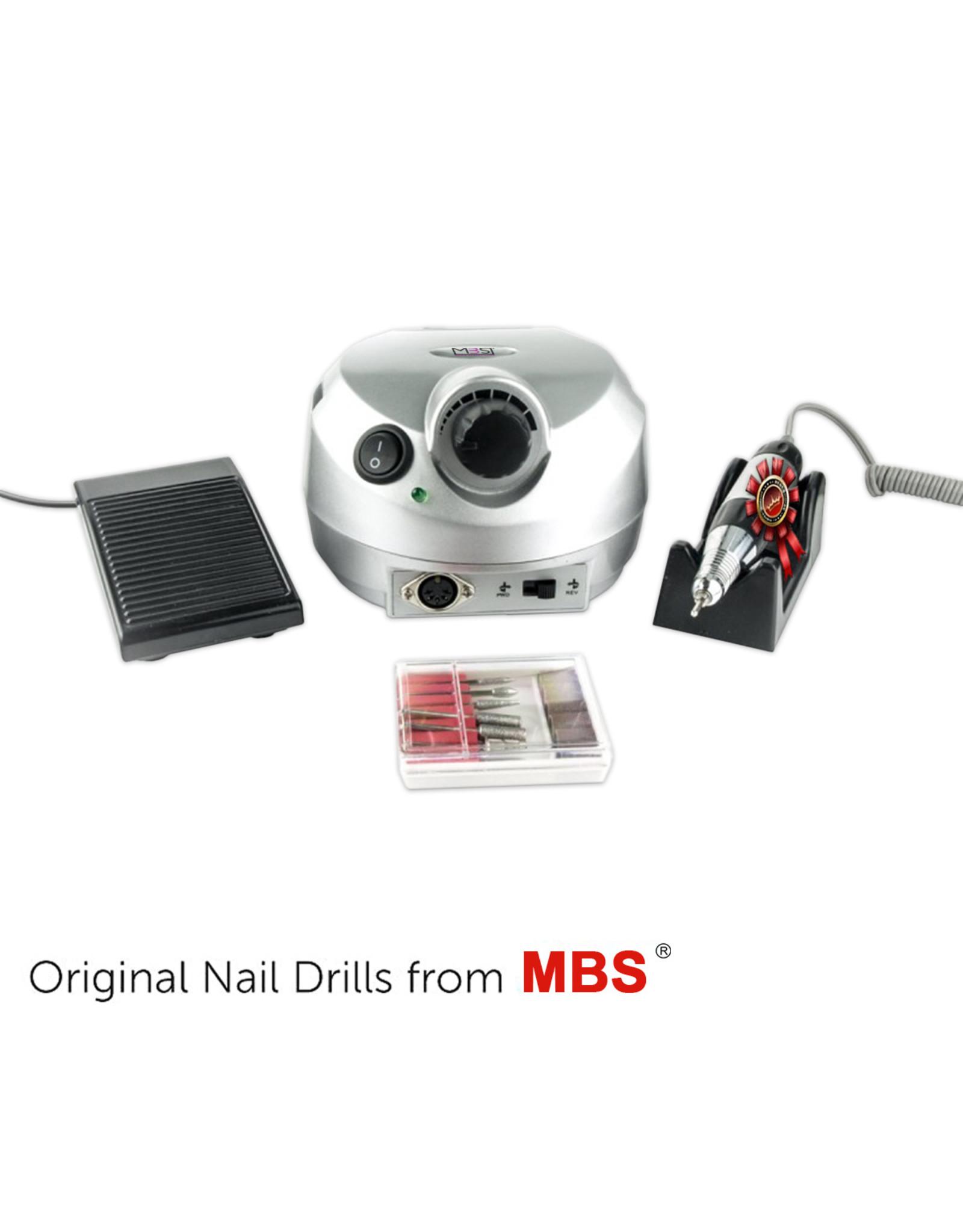 Mega Beauty Shop® Nagelfrees zilver Orginele MBS®