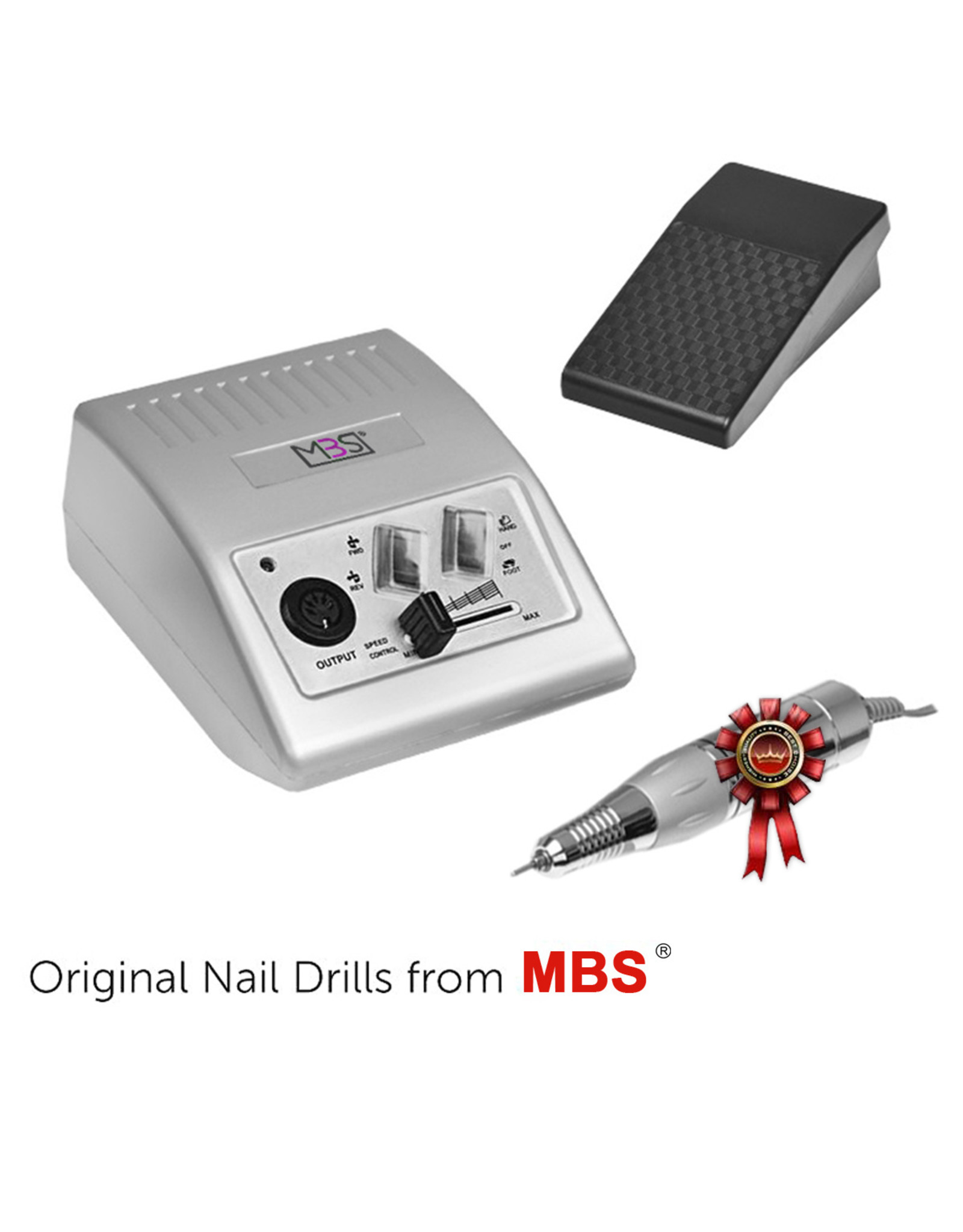 Mega Beauty Shop® Nagelfrees JD500 35Watt - zilver Originele MBS®