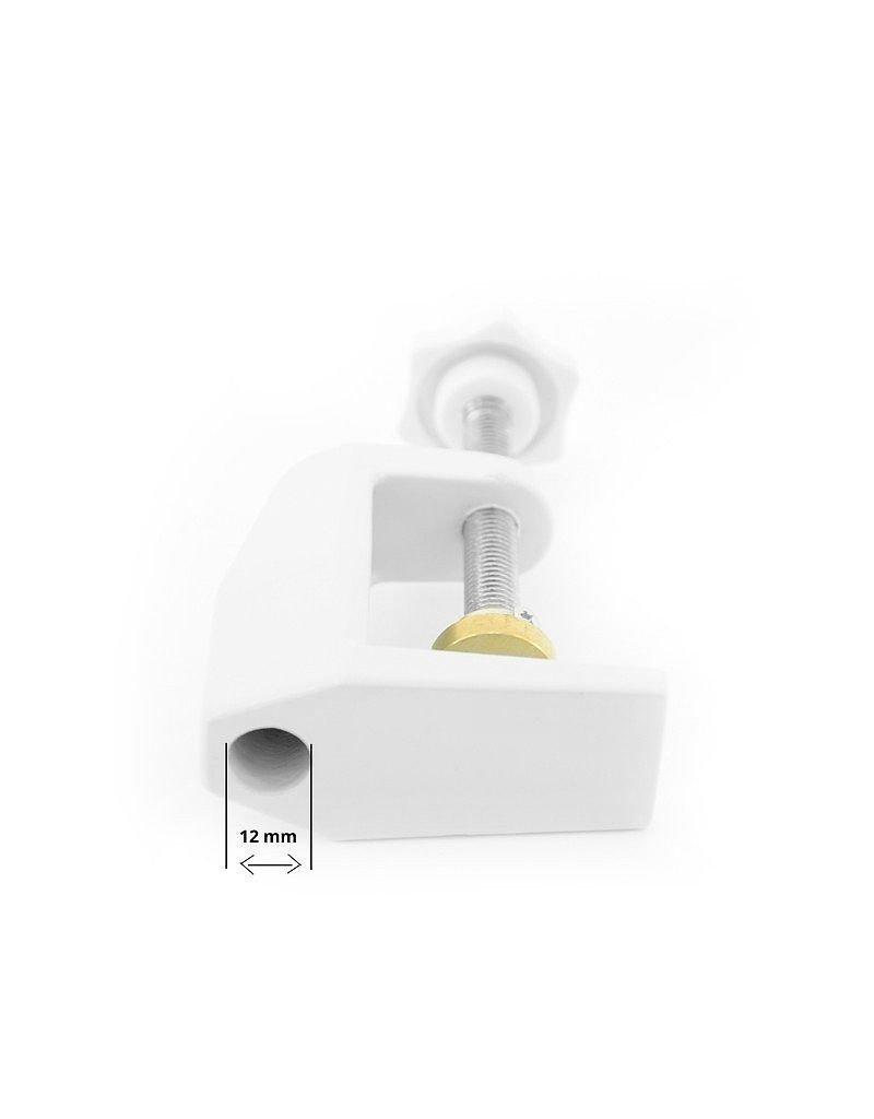 Mega Beauty Shop® Tafelklem voor loeplampen - zwart