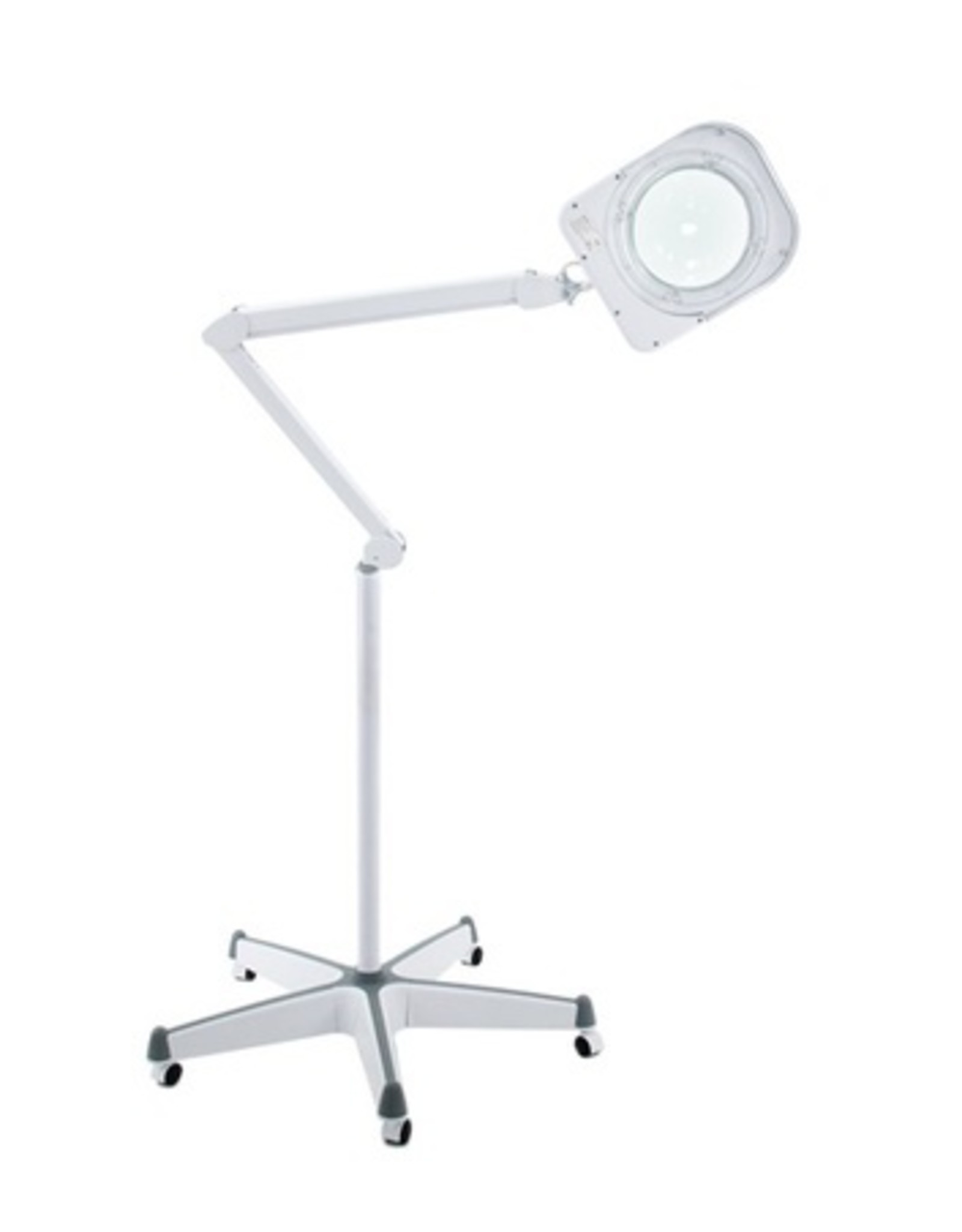 Merkloos Loeplamp 6015 Intensety LED + Rolstatief