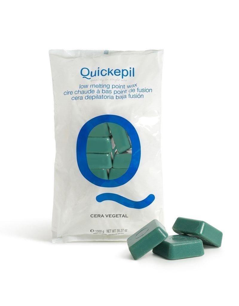 QUICKEPIL Ontharingswax blokken 1kg. Groen
