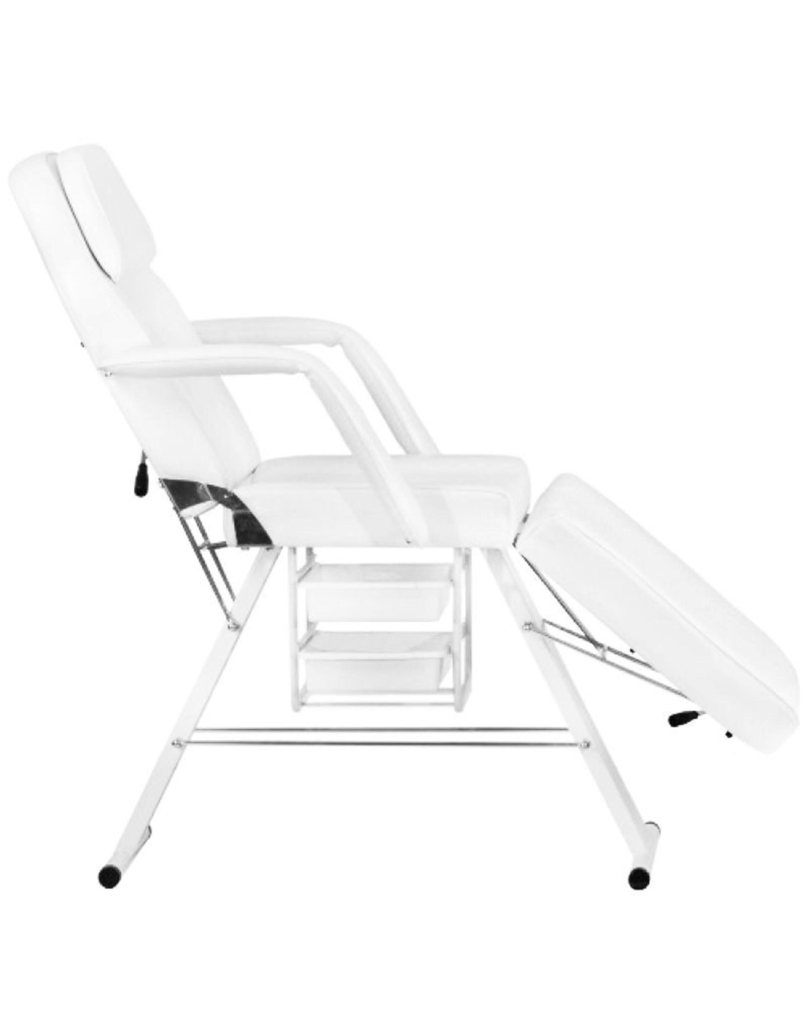 Mega Beauty Shop® Behandelstoel / Pedicurestoel Wit