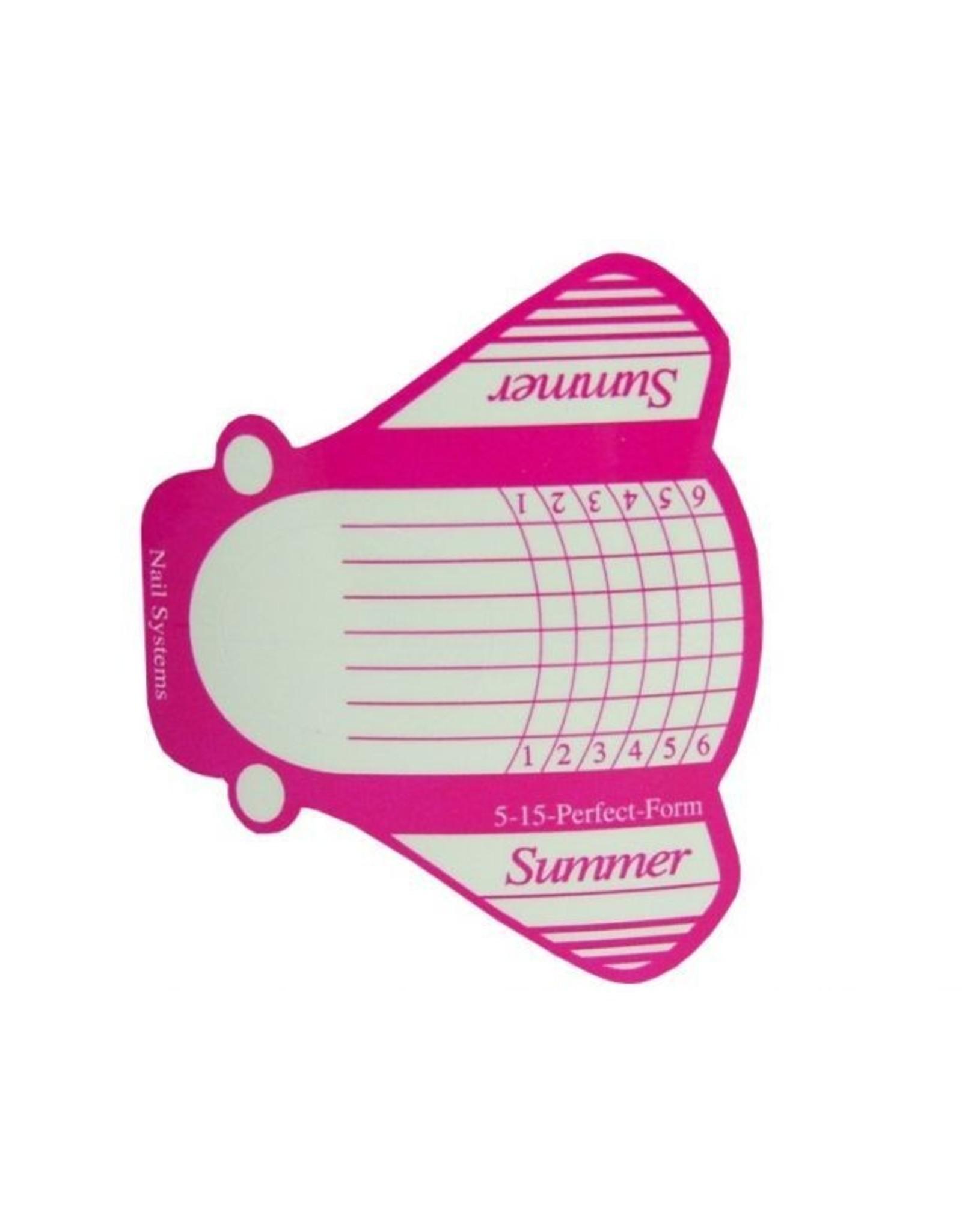Merkloos Sjablonen 500 stuks Summer