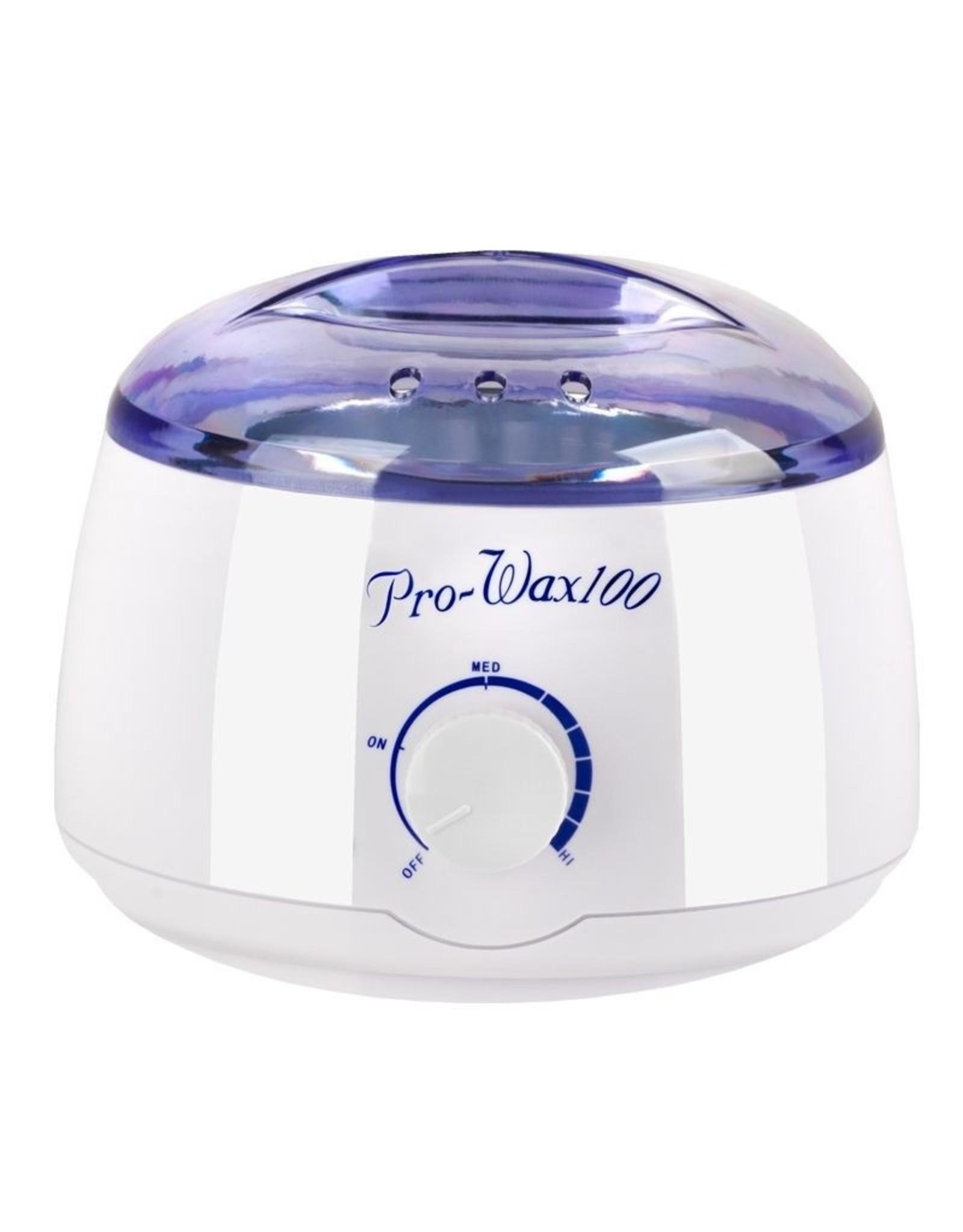 Merkloos WAX/HARS Verwarmer 400ML, 100W Blauw/Wit