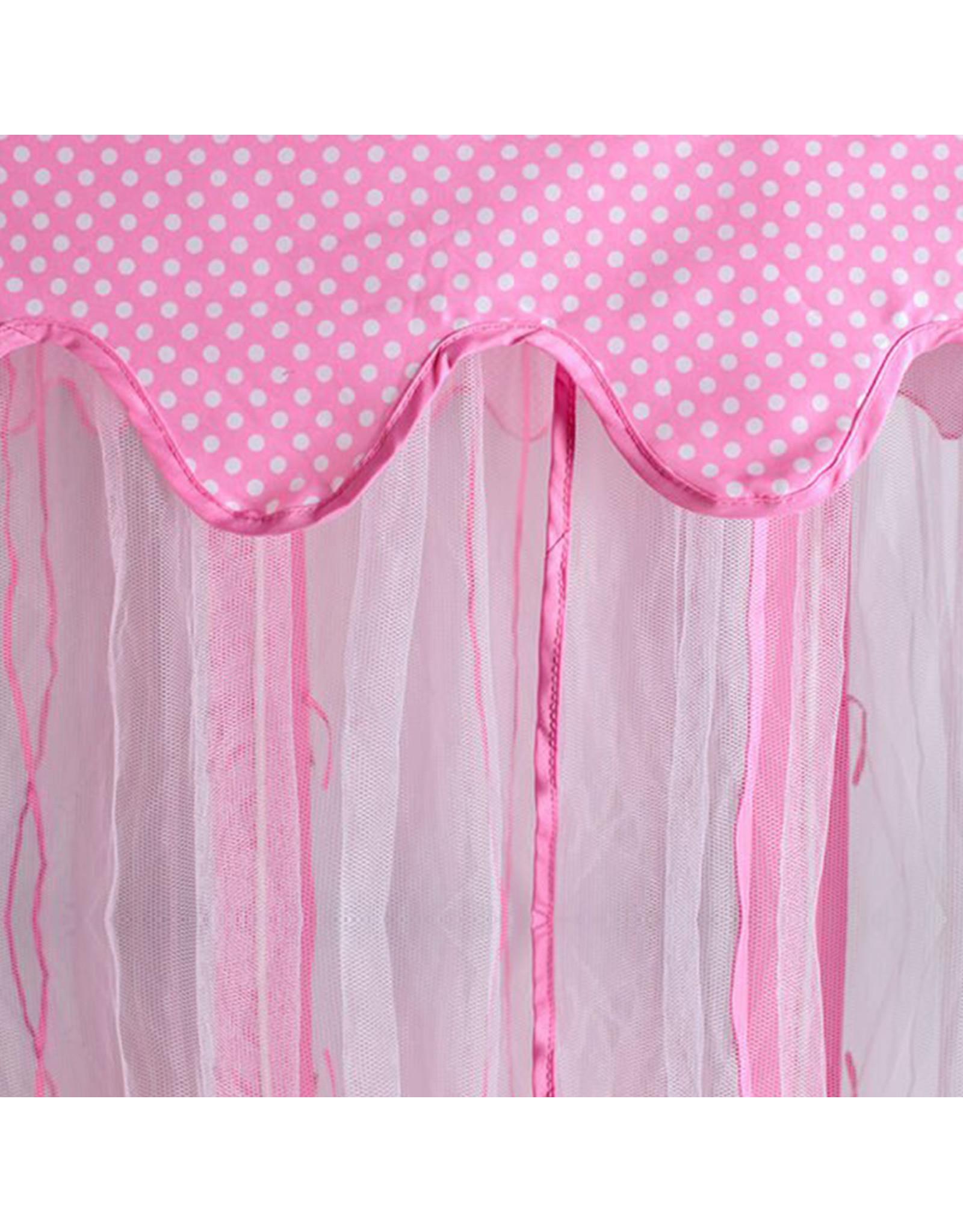 Merkloos Prinsessen Tent/ Prinsessentent/Tent - Kinder Tent /Roze