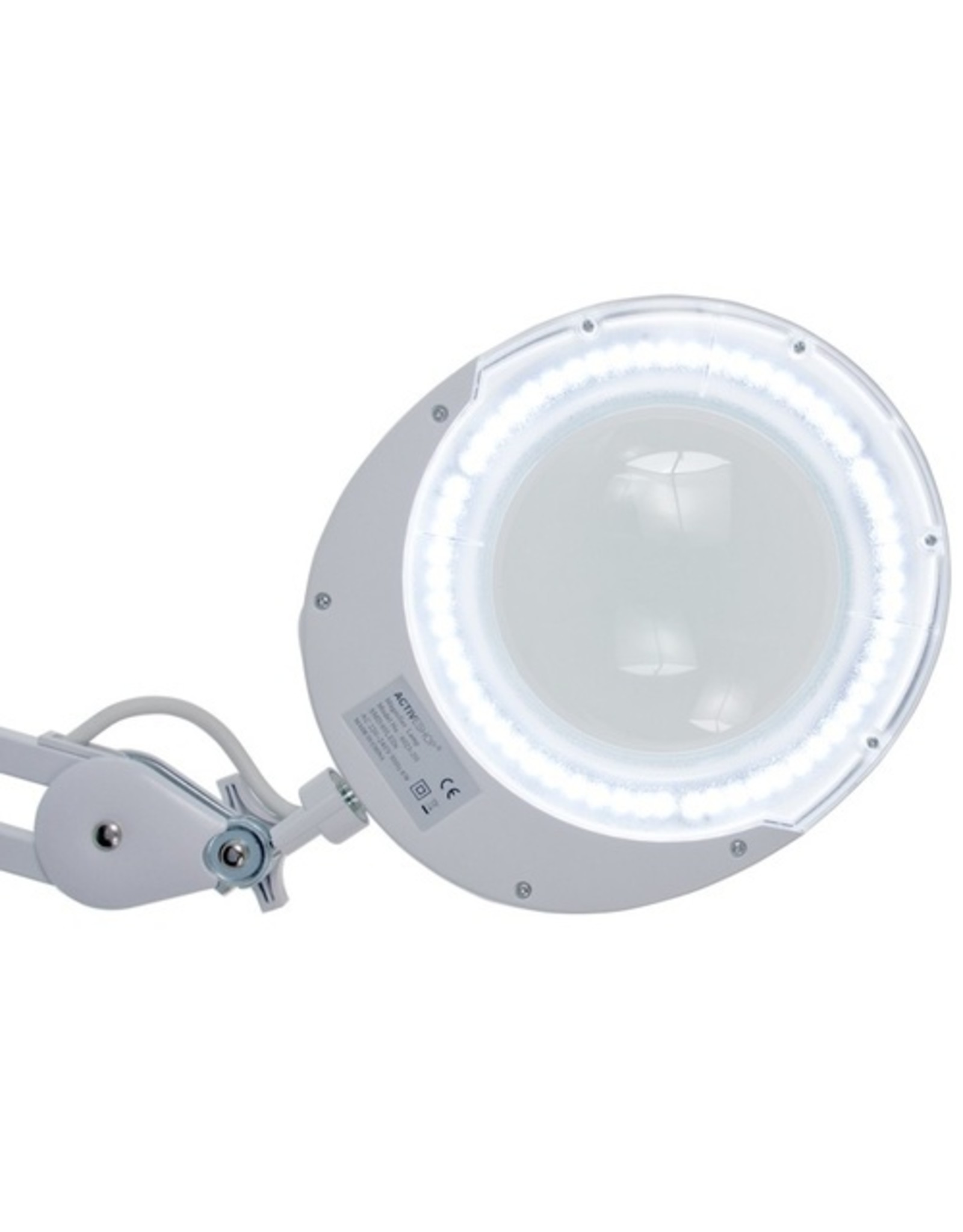Mega Beauty Shop® Loeplamp 6025 Intensety LED + Rolstatief WIT