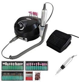 Beautylushh Nagelfrees zwart- 65Watt- tot 35.000toeren- 116 delig-Elektrische Vijl/Beautylushh