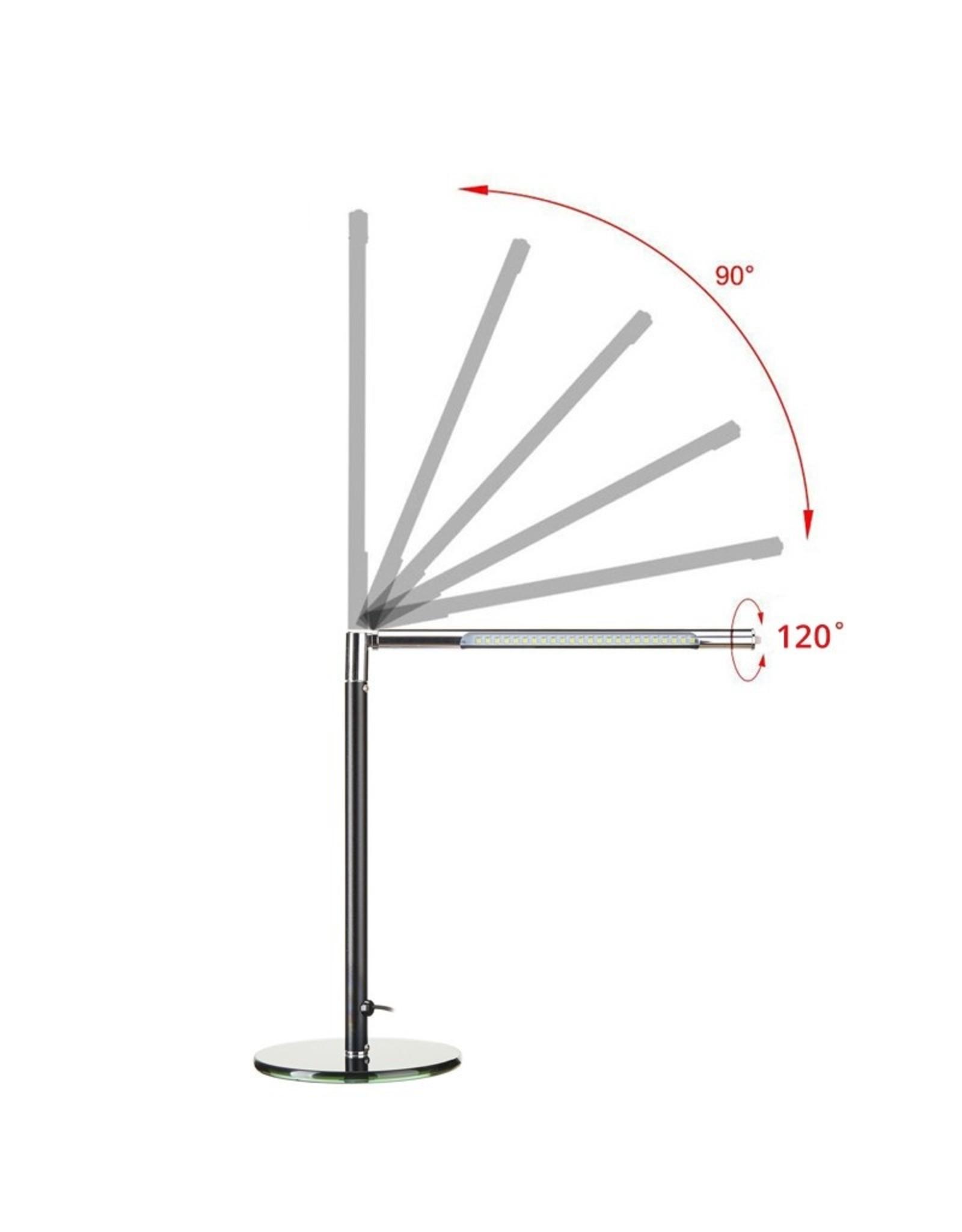 Merkloos Manicuretafel met afzuiging INCL. tafellamp