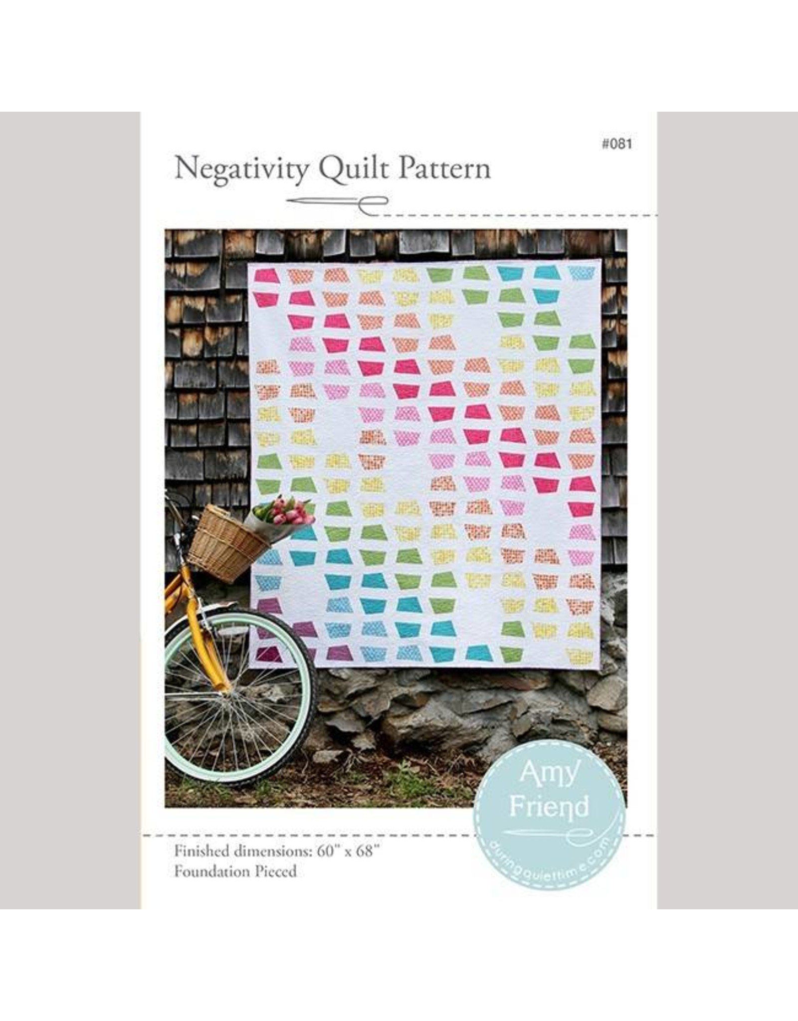 During Quiet Time Negativity Quilt