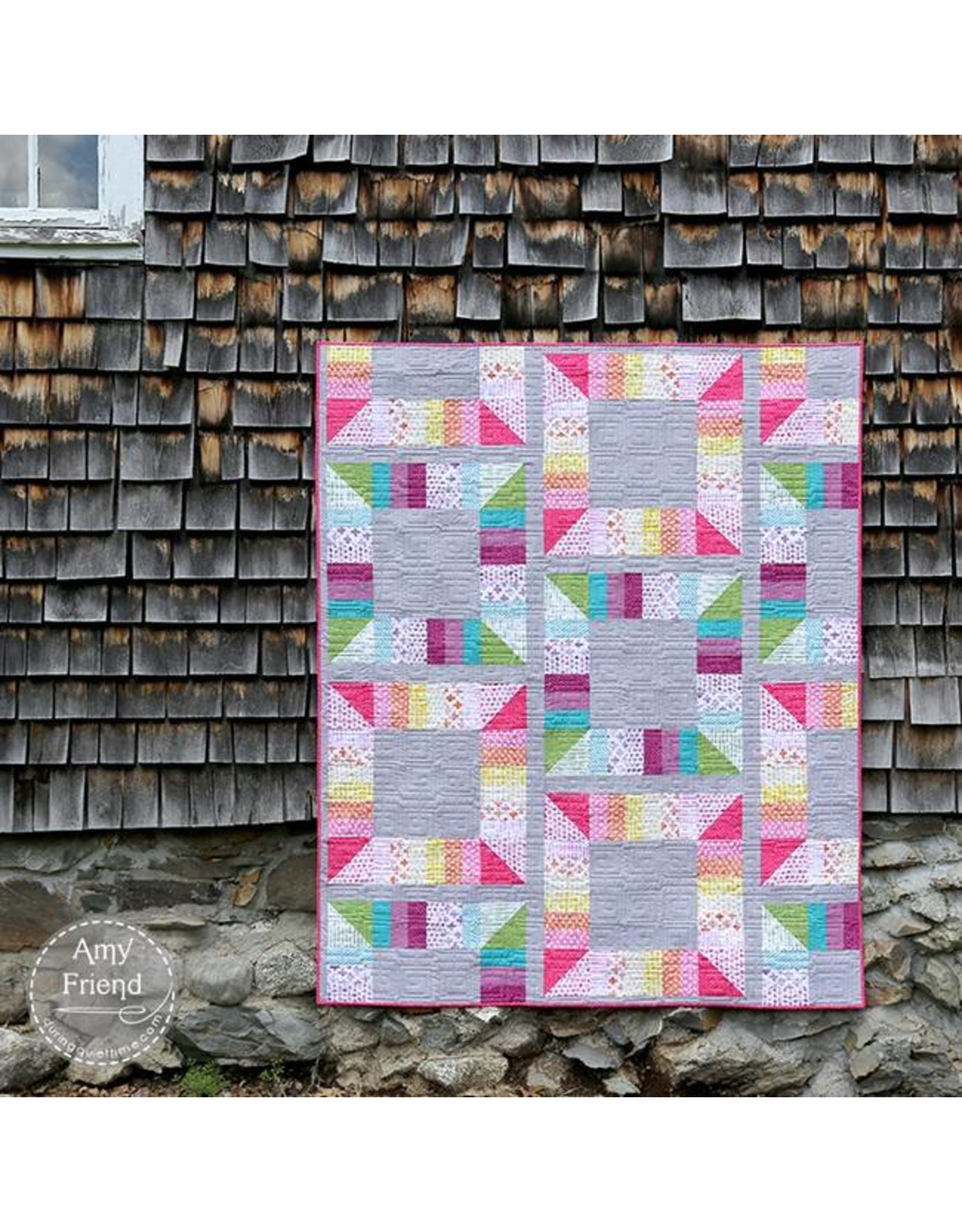 During Quiet Time Game Board Quilt