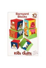 Kids Quilts Barnyard Blocks - patroon voor speelblokken