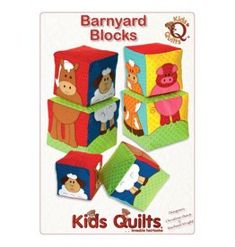 Kids Quilts Barnyard Blocks